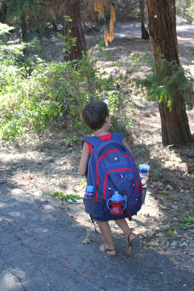 Proud of my Little Man Wanting to Carry our Stuff