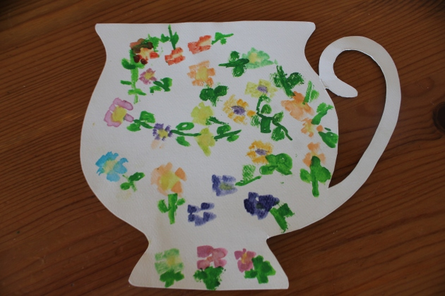 Tea Invitation for Doris