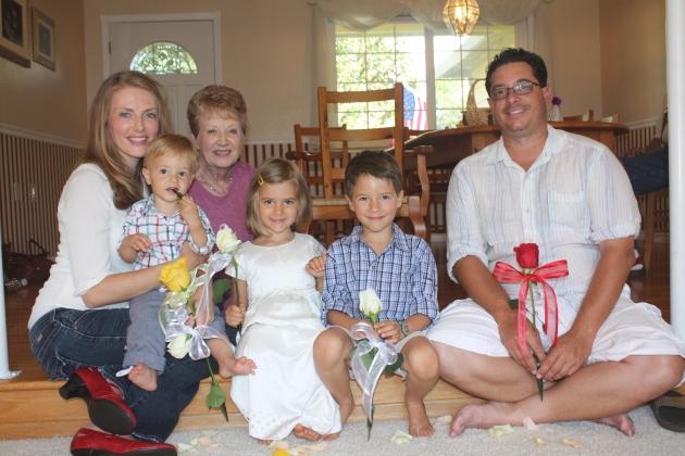 Daniel's 1st Birthday and Baby Dedication
