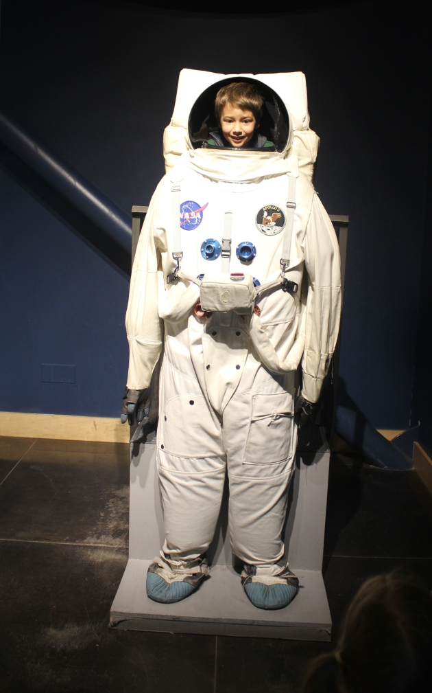 Astronaut Faith