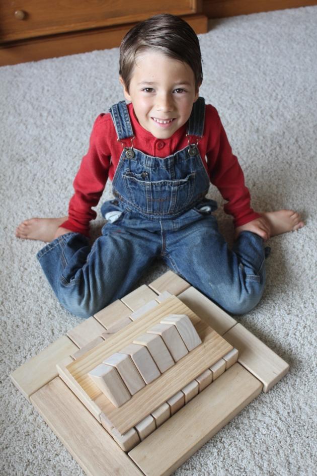 Noah's Block Pyramid Idea