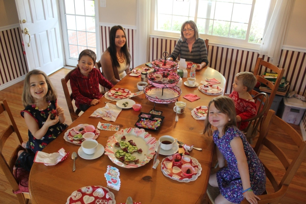 Valentines Friendship Tea Party