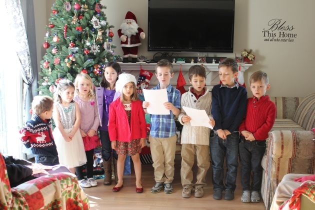 Our Christmas Kids Choir Singing at a Care Home was so Sweet