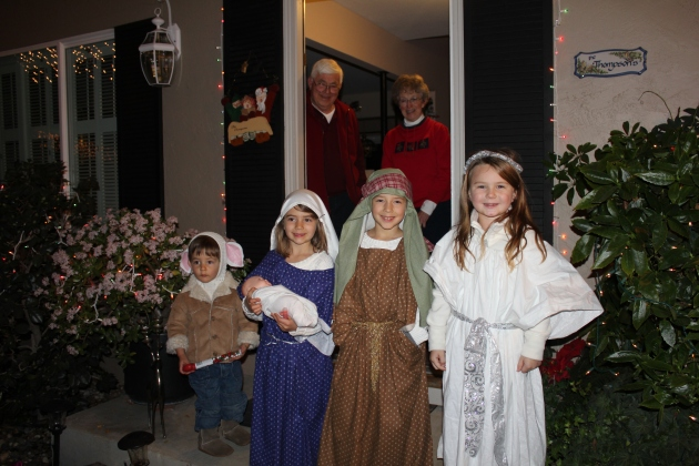 Caroling in the Neighborhood