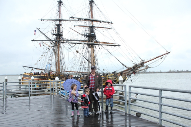 We learned about sailing in the late 1700's as we toured Tall Ships of Gray's Harbor.